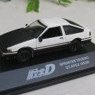 Yodel 1/72 Diecast Car Model INITIAL D TOYOTA Sprinter Trueno GT-Apex (AE86) - Upgrade Verion