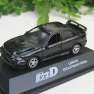 Yodel 1/72 Diecast Car Model INITIAL D Mitsubishi Lancer Evolution III CE9A Evo BLACK
