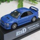 Yodel 1/72 Diecast Car Model INITIAL D Subaru Impreza WRX Type R STi Version V (GC8)