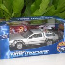 Welly 1/24 Diecast Car Model Delorean Time Machine Back To The Future II