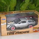 Welly 1/24 Diecast Car Model Delorean Time Machine Back To The Future  III