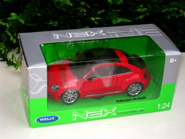 Welly 1/24 VW Volkswagen New Beetle The Beetle RED