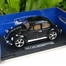 1/18 Diecast Car Model Volkswagen VW Beetle BLACK