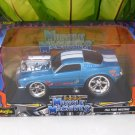 Maisto 1/24 Diecast Car Model MUSCLE MACHINE 1966 FORD MUSTANG BLUE