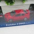 MZ 1/32 Diecast Car Model EVO 10 Mitsubishi Lancer Evolution X ENKEI with Sound & Light RED