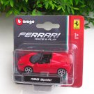 Bburago 1/64 Diecast Car Model Ferrari 458 Spider Mini car