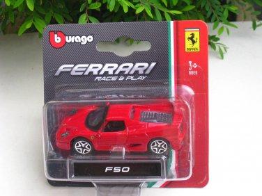 Bburago 1/64 Diecast Car Model Ferrari F50 Mini car
