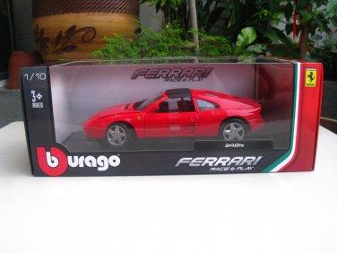 Bburago 1/18 Diecast Car Model Ferrari 348ts Red