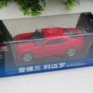 MZ 1/32 Diecast Car Model Chevrolet Camaro with Sound & Light RED