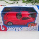 Bburago  STREET FIRE 1/43 Die cast Model Car 2013 SRT Viper GTS Red