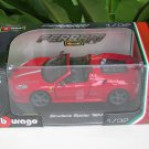 Bburago 1/32 Die cast Model Car  Ferrari Scuderia Spider 16M Red