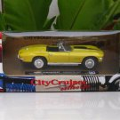New Ray 1/43  Diecast model car  Chevrolet Corvette 1967  YELLOW