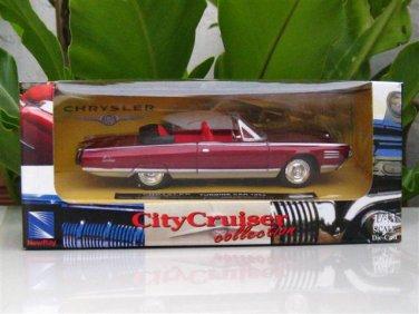 New Ray 1/43  Diecast model car    Chrysler Turbine Car 1964  RED