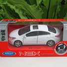 Welly 1/34-1/39 Die cast Car KIA K3 Cerato White(11cm)
