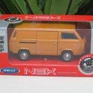 Welly 1/34-1/39 Die cast Car VW Volkswagen T3 Bus Combi Orange(11cm)