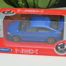 Welly 1/34-1/39 Die cast Car Subaru Impreza WRX STI 2015 BLUE(11cm)
