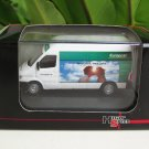 High Speed 1/87 Diecast Model Car 1999 Mercedes Benz Sprinter Van Europcar
