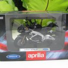 Welly 1/18 Diecast Motorcycle Aprilia Tuono V4 (Black)