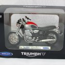 Welly 1/18 Diecast Motorcycle Triumph Thunderbird  Red (2002)