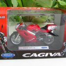 Welly 1/18 Diecast Motorcycle Cagiva Mito 125 Red