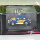 High Speed 1/87 Diecast Model Car VW Volkswagen Kafer Beetle LUFTHANSA Blue