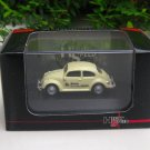 High Speed 1/87 Diecast Model Car VW Volkswagen Kafer Beetle Brau Beviale 2004 Beige