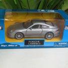 "Top Mark (5"") 1/35 Diecast  Model Car 2013 Porsche 911 Carrera S  (Silver Grey )"