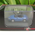 High Speed 1/87 Diecast Car Model Porsche Boxster Cabrio Blue(5cm)