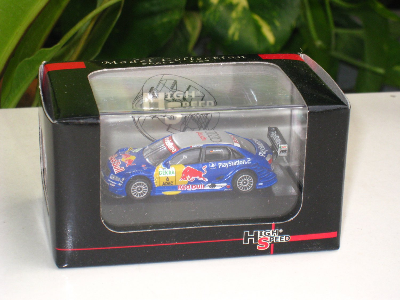High Speed 1/87 Top Gear Malaysia Audi  A4 DTM 2004 #6 AUDI ADAC Racing (5cm)