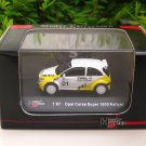 High Speed 1/87 Diecast Model Car  Opel Corsa Super 1600 Rallye #1 (4.5cm)