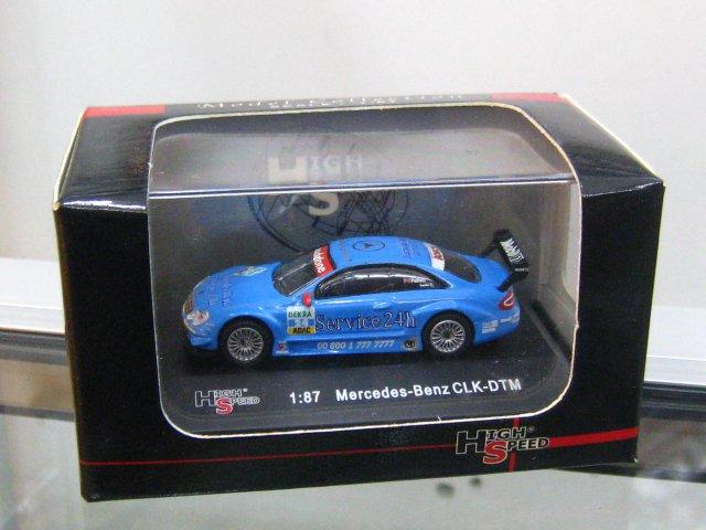 High Speed 1/87  Mercedes CLK DTM Service 24h 2003 P. Huisman # 24