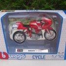 Bburago 1/18 Diecast Motorcycle Ducati MH900E ( Red )