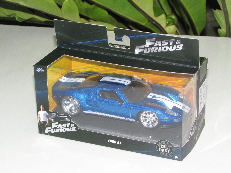 Jada 1-32 Fast & Furious Series -  2005 Ford GT Blue (97204)