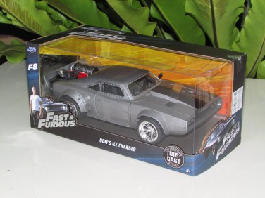 Jada 1-24 Fast & Furious Series -  Dom's Ice Charger Fast & Furious (2017) Fast 8/F8 (98291)