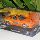 Jada 1-24 Fast & Furious Series -  Brian's 1995 Toyota Supra  Fast & Furious (2001) Orange (97168)