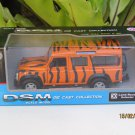"DSM 5"" Die cast Model #30 Land Rover Defender TIGER STRIPE"