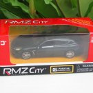 "RMZ (5"") Die cast Model #17 PORSCHE PANAMERA TURBO  (Black)"