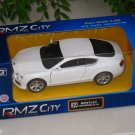 RMZ 5' Die cast Model #39 Bentley Continental GT V8 (White)