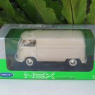 Welly 1/18 Die cast Car VW VOLKSWAGEN T1 BUS PANEL VAN 1963 (BEIGE)