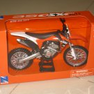 New Ray 1/12 Diecast Motocross 2011 KTM 350 SXF Dirt Bike (Orange)