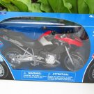 New Ray 1/12 Diecast Motorcycle 2006 BMW R 1200 GS (Red & Black)