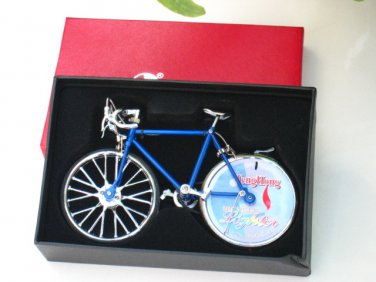 Table Lighter -Trendy Bicycle Lighter (Assorted) Shape (Blue) 18 cm