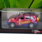 High Speed 1/43 Diecast Model Car Toyota RAV 4 (AFL) Brisbane LIONS (Red Mix Blue)