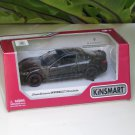 "Kinsmart (5"") Die cast Car 2016 Maserati Granturismo MC Stradale  Black (1-38) Sports Car"
