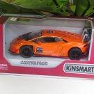 """Kinsmart (5"""") Die cast Blancpain 2015 Lamborghini Huracan LP 620-2 Super Trofeo # 63 Orange  (1-36)"""