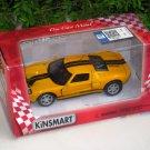"Kinsmart (5"") Die cast  Model Car 2006 Ford GT Yellow (1-38) Black Stripe"
