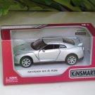 "Kinsmart (5"") Die cast  Car 2009 Nissan GT-R R35 Silver (1-36) Sports Car"