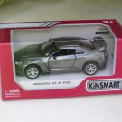 "Kinsmart (5"") Die cast  Car 2009 Nissan GT-R R35 Grey (1-36) Sports Car"
