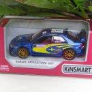 "Kinsmart (5"") Die cast 2007 Subaru Impreza WRC Rallye Monte Carlo P. Solberg #7  (1-36) Rally Car"