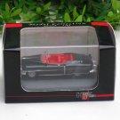High Speed 1/87 Diecast Car Model Classic Cadillac Eldorado Cabrio 1953  ( Black ) 5.5cm